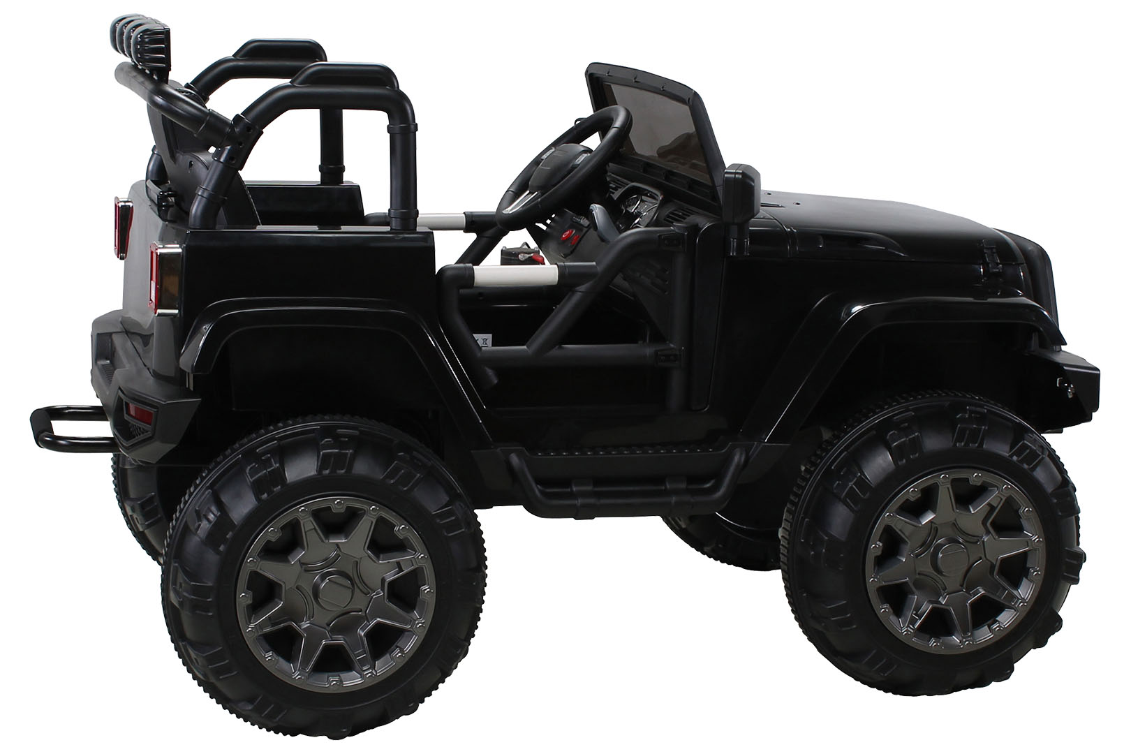kinder elektroauto offroad jeep adventure 12v 2 x 35 watt. Black Bedroom Furniture Sets. Home Design Ideas