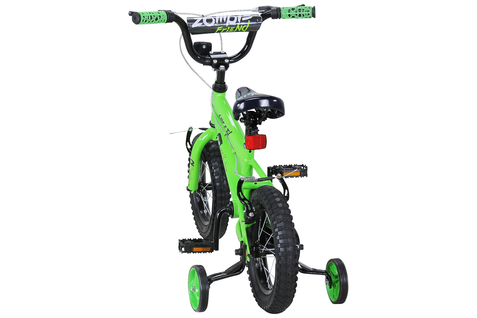 kinder fahrrad zombie 12 zoll kinderfahrrad gr n ebay. Black Bedroom Furniture Sets. Home Design Ideas