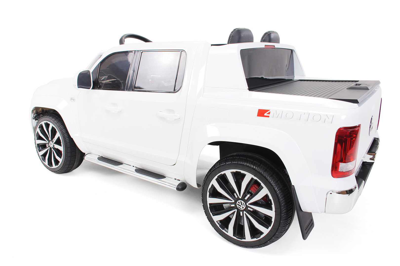 kinder elektroauto vw amarok lizenziert 2 x 35 watt. Black Bedroom Furniture Sets. Home Design Ideas